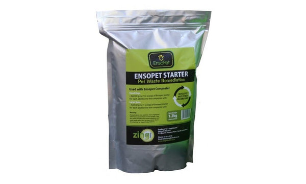 pet waste composting accelerator - ensopet starter bag