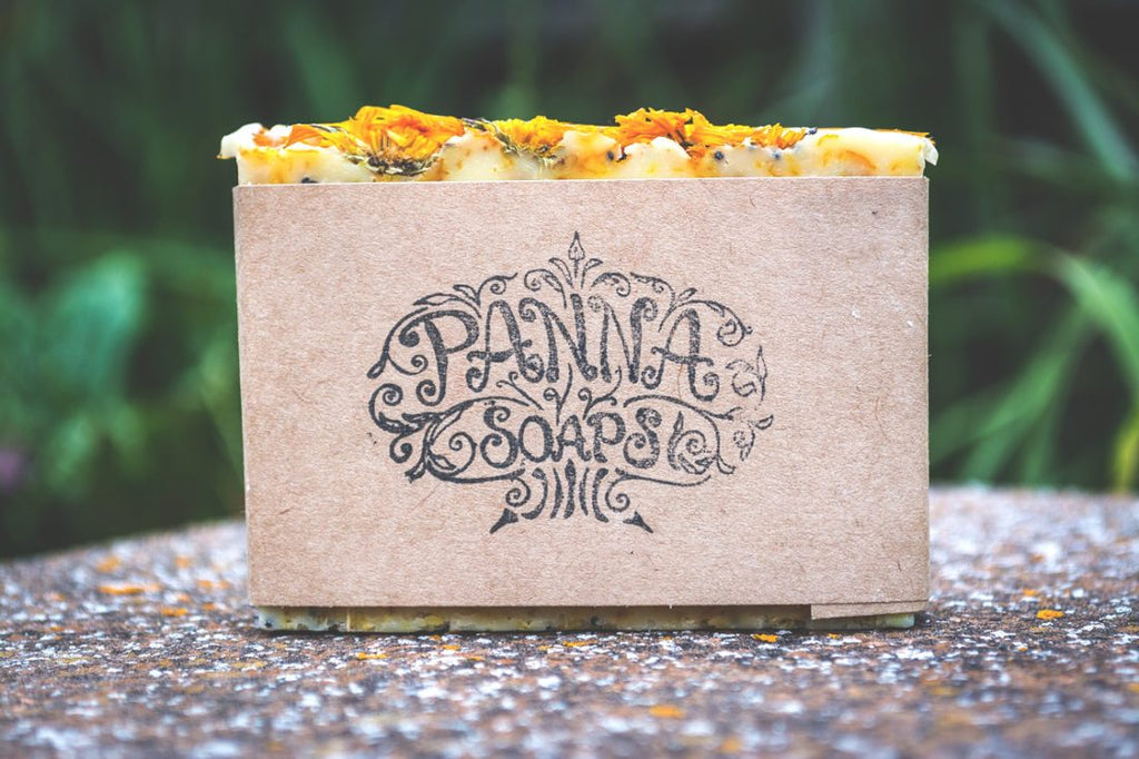 calendula & poppy soap - vegan