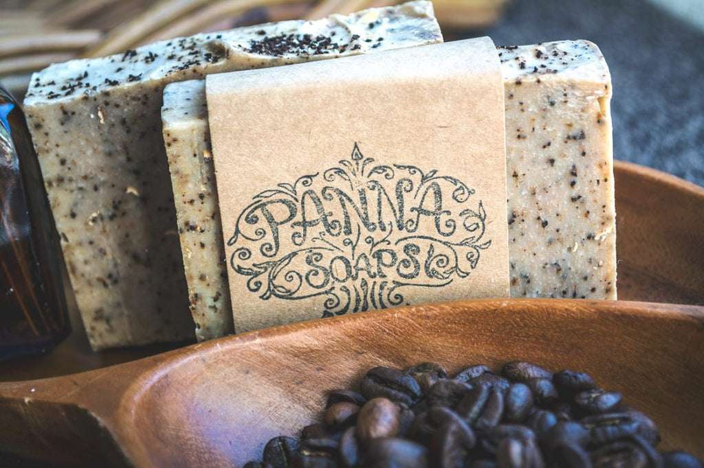 coffee soap - vegan