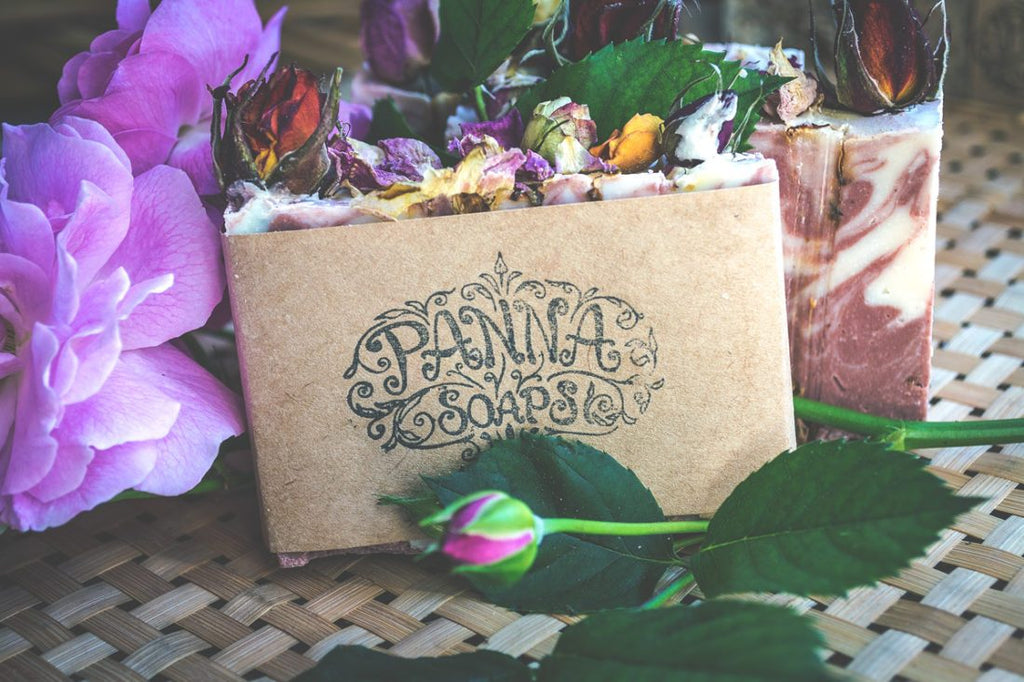 geranium and rose soap - vegan