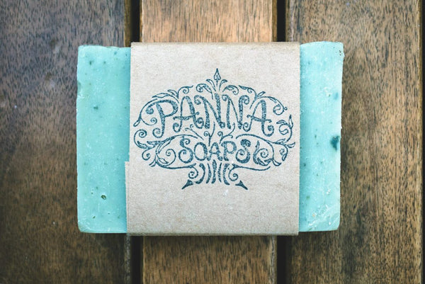 green clay soap - vegan