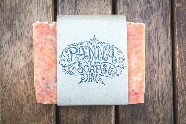 oatmeal soap - vegan