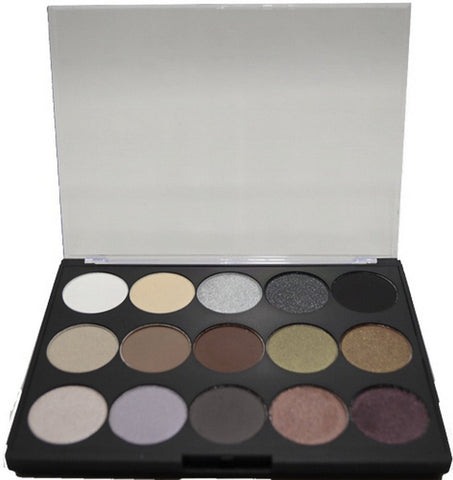 15 Shade Eye Shadow Palette i14 - shop.livefree.co.uk