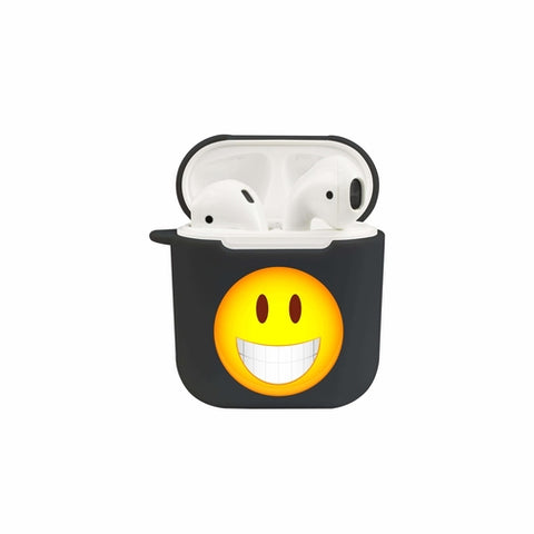 Soft TPU Airpod Protective Case - SMILEY47 - shop.livefree.co.uk