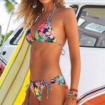 New Style Embroidery Women Bikini Set Swimwear - shop.livefree.co.uk