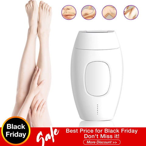 Professional IPL Epilator Laser Hair Removal - shop.livefree.co.uk