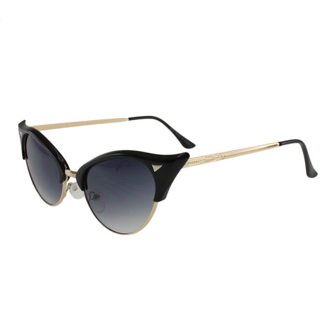 MQ Elsie Sunglasses in Black / Smoke - shop.livefree.co.uk