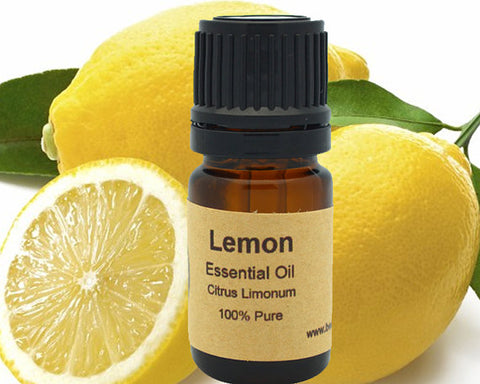 Lemon Essential Oil  5 ml, 10 ml or 15 ml - shop.livefree.co.uk