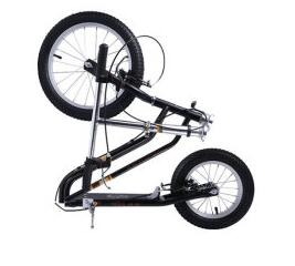 16 Inch Adult Kick Scooter City with Hand Brake - shop.livefree.co.uk