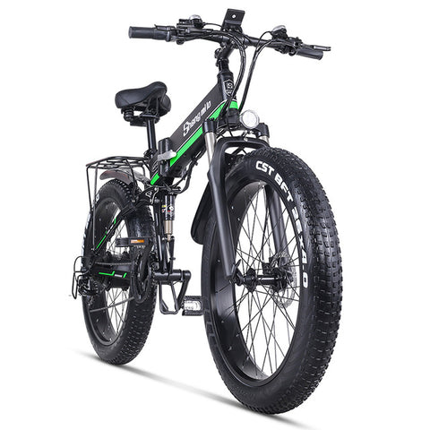 Electric Beach Bike with Fat Tires - shop.livefree.co.uk
