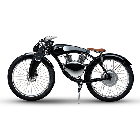 Electric Motorcycle with Vintage Retro Design - shop.livefree.co.uk