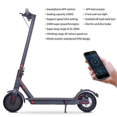 iScooter Electric Scooter with Bluetooth & Self-Balancing - shop.livefree.co.uk