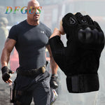 2018 Sale Us Army Men's Tactical Gloves Outdoor Sports Half Finger Military Combat Anti-Slip Carbon Fiber Shell Tactical Gloves - shop.livefree.co.uk