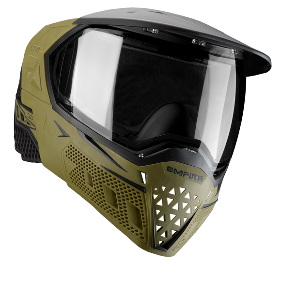 EMPIRE EVS PAINTBALL MASK - OLIVE/BLACK