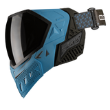 EMPIRE EVS PAINTBALL MASK W/ ADDITIONAL LENS - BLUE/BLACK