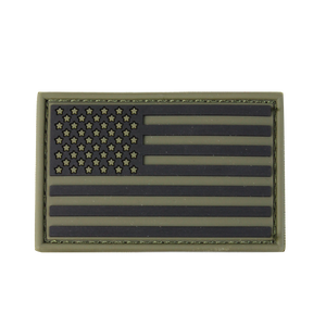CONDOR PVC US FLAG PATCH - OLIVE DRAB