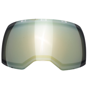 EMPIRE EVS MASK THERMAL LENS - HD GOLD MIRROR