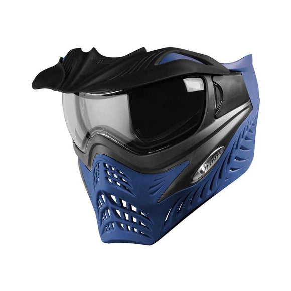 V-FORCE GRILL PAINTBALL MASK - Grey/Blue (AZURE)