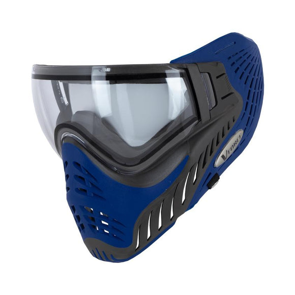V-FORCE PROFILER PAINTBALL MASK - GREY/BLUE (AZURE)