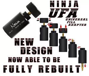 Ninja UFA Universal Fill Adapter- Black