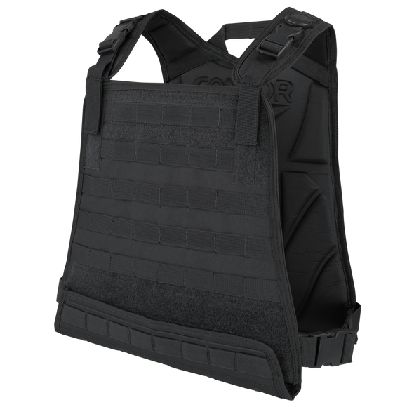 Condor Compact Plate Carrier - BLACK