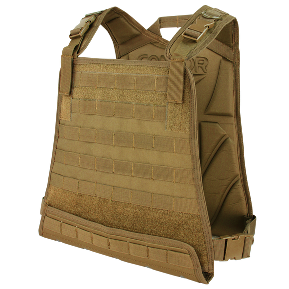 Condor Compact Plate Carrier - COYOTE