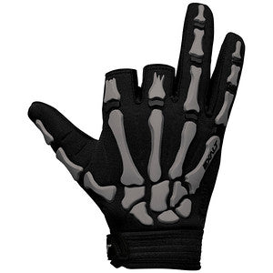 Exalt Death Grip Gloves- Half Finger- Grey