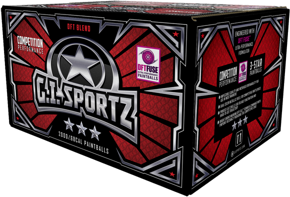 GI SPORTZ 3 STAR 2,000 ROUND PAINTBALL CASE