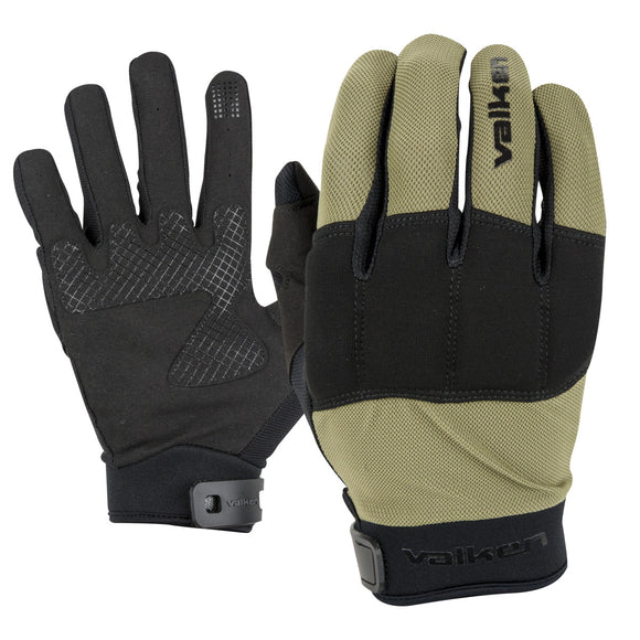 VALKEN KILO FULL FINGER TACTICAL GLOVES - Olive