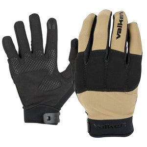 VALKEN KILO FULL FINGER TACTICAL GLOVES - Tan