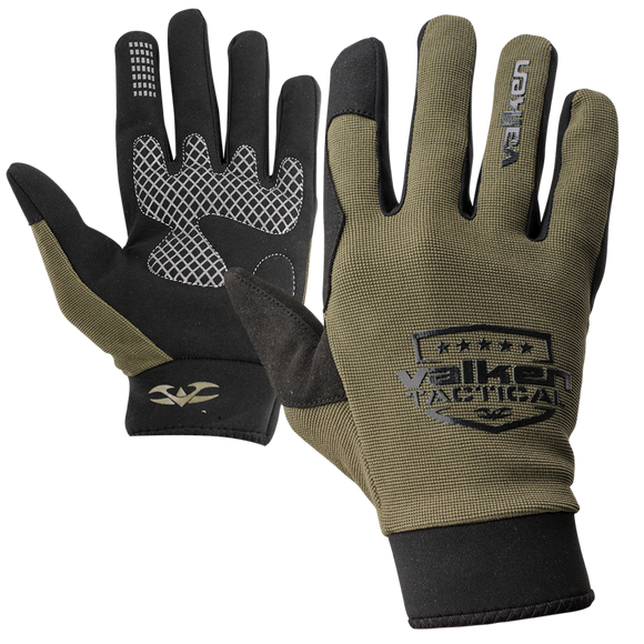 VALKEN V-TAC SIERRA II PAINTBALL GLOVES - OLIVE