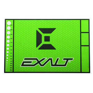 Exalt HD Rubber Tech Mat- Slime Green