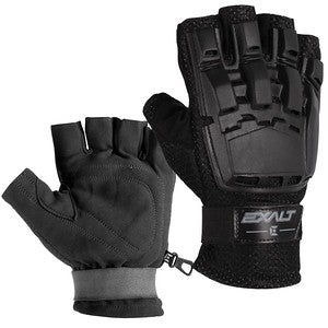 Exalt Hard Shell Gloves - Black