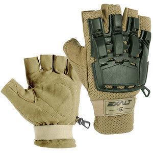 Exalt Hard Shell Gloves - Tan