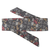 HK Army Hostilewear Headband- Skulls - Tan/Red