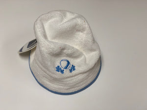 Dye Bucket Hat - White/Light Blue