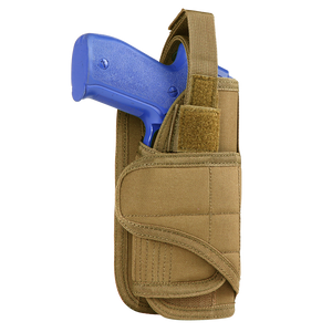 CONDOR VERTICAL MOLLE READY HOLSTER - COYOTE