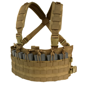 CONDOR RAPID ASSAULT CHEST RIG - COYOTE