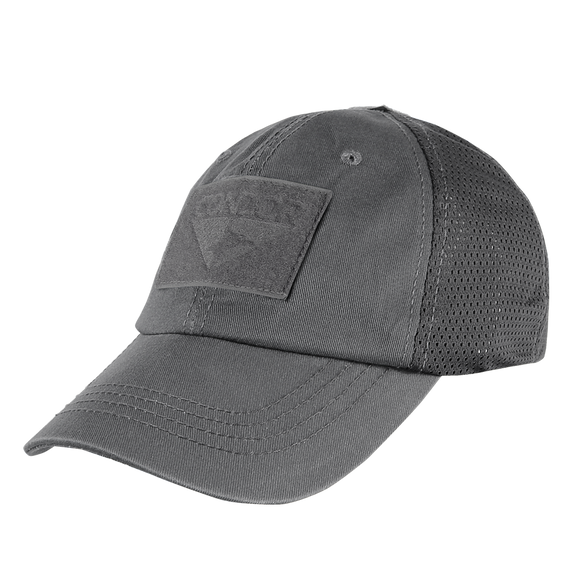 CONDOR MESH TACTICAL CAP - GRAPHITE