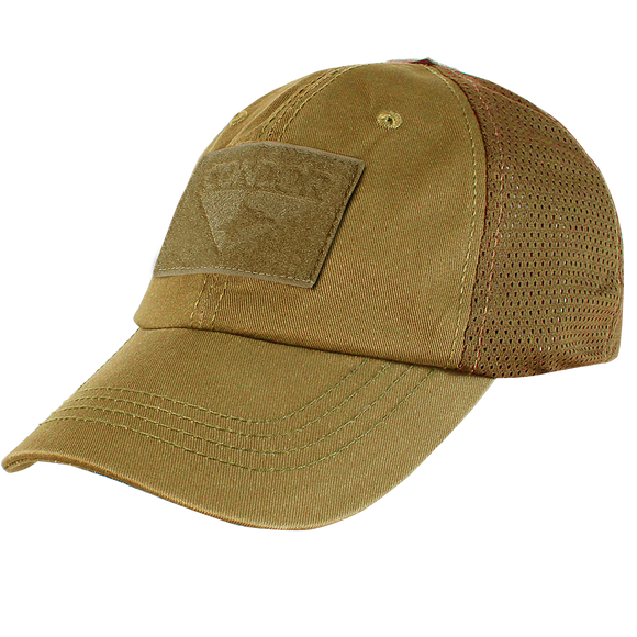 CONDOR MESH TACTICAL CAP - COYOTE