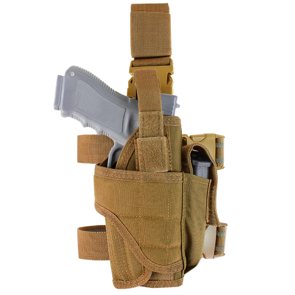 CONDOR TORNADO TACTICAL LEG HOLSTER - COYOTE