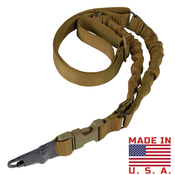 CONDOR VIPER SINGLE POINT BUNGEE SLING- COYOTE