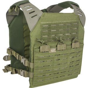 VALKEN LC PLATE CARRIER WITH INTEGRATED MAGAZINE POUCHES- OLIVE