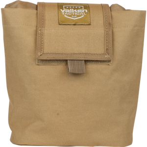 VALKEN TACTICAL FOLDING DUMP POUCH - TAN