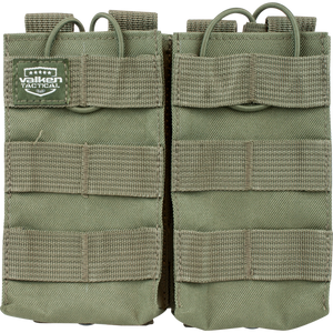 VALKEN TACTICAL AR DOUBLE MAGAZINE POUCH - OLIVE