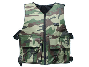 GXG REVERSIBLE BASIC TACTICAL VEST- (CAMO)