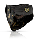 DYE I5 2.0 PAINTBALL MASK - ONYX/GOLD