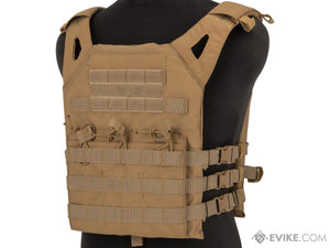 Matrix Level-1 Plate Carrier with Integrated Magazine Pouches- TAN