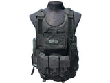 GXG Deluxe Tactical Vest - Black