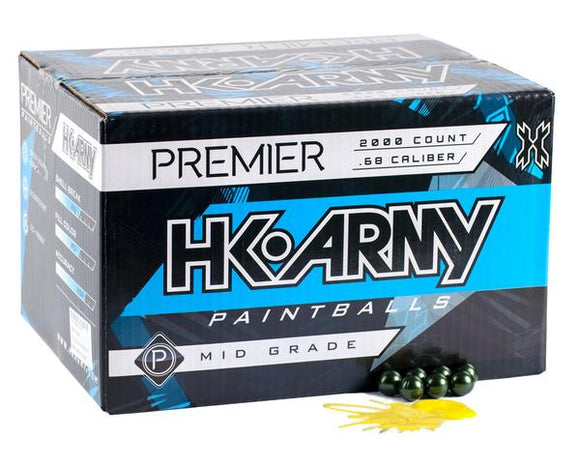 HK Army Premier Paintballs 2000 Rounds